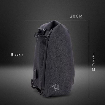 Family Friends party Board game 2017 New Fashion Water Shape Chest Bag Large Size Men Sling bag Waterproof Travel Daily Crossbody Bag Shoulder Bag AT_41_3