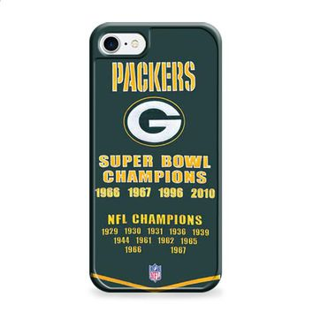 Green Bay Packers championship banner iPhone 6 Plus | iPhone 6S Plus case