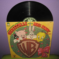 Vinyl Record Album Christmas with Bugs Bunny & by JustCoolRecords