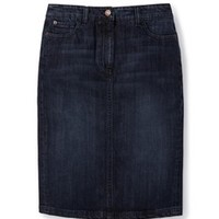 Denim Pocket Pencil Skirt