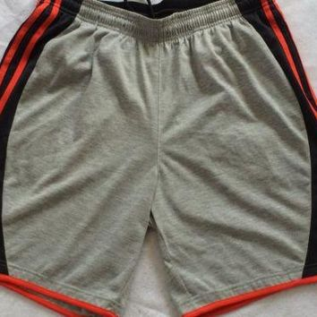 adidas Performance Men's Fastball Training Short - Heather Grey/Phantom , Large