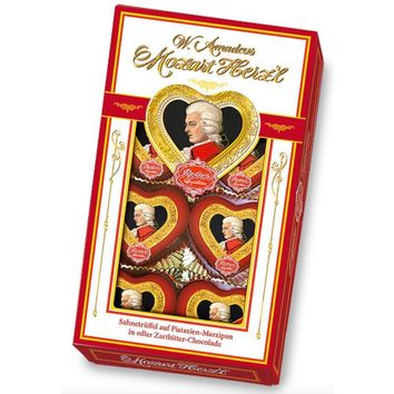 Reber Mozart Hearts Gift Box, 2.8 oz (8 Pc)