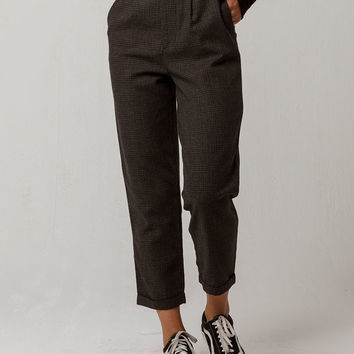 OTHERS FOLLOW Plaid Womens Trouser Pants