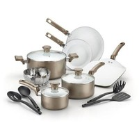 T-Fal Celebrate Ceramic 14-Piece Cookware Set - Walmart.com