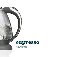The Capresso H20 Kettle - Beautiful Heat-Resistant Kettle With An Automatic Shut Off Feature | DavidsTea