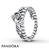 PANDORA Ring CZ My Princess Sterling Silver