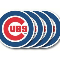 Chicago Cubs Coaster Set - 4 Pack