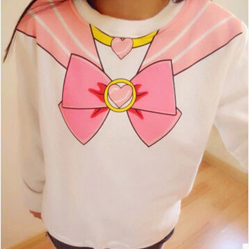 Sailor Moon Harajuku Sweatshirt Top Kawaii Cute
