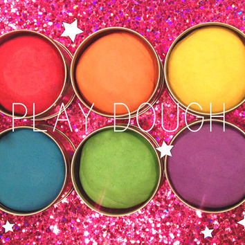 Best Play Dough, Organic, Vegan, Cruelty Free, Gluten Free, Kids, Fun, Sparkle, Glitter, Rainbow, Playdough, Scented