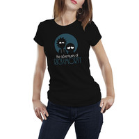 Rick And MortyT-shirt for Men's Women's Adventures of Rick And Morty Tops Tee Shirt Funny Fashion Camiseta T shirts Plus Size