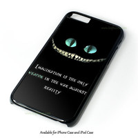 Alice In Wonderland And Tardis Doctor Who Design for iPhone and iPod Touch Case