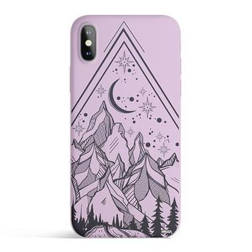 Happy Camper - Colored Candy Matte TPU iPhone Case Cover