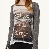 Follow Your Dreams High Low Top