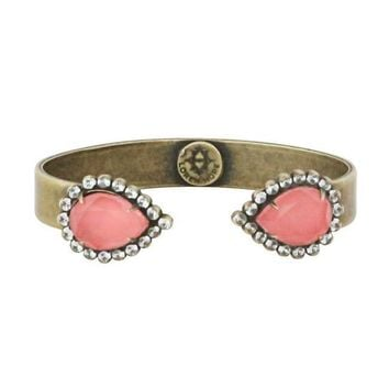 Loren Hope Small Sarra Cuff in Coral