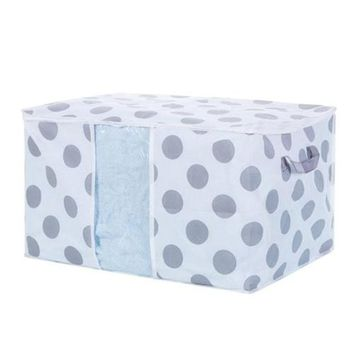 Polka Dots Foldable Storage Bag