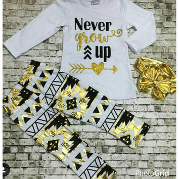 Never Grow Up pant set