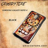Obey Hello Kitty For Samsung Galaxy Note 4 Snap On and 3D Case