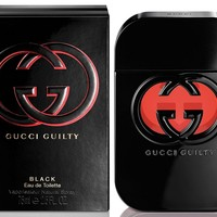 G U C C I Guilty Black Perfume for Women 2.5 Oz.