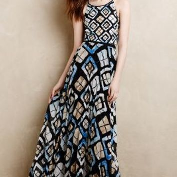 Marisol Maxi Dress by SB by Sachin and Babi Black Motif