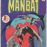 Man-Bat V1, 1.  VF- Jan 1976, DC Comics