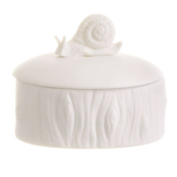 Woodland Snail Keepsake Box