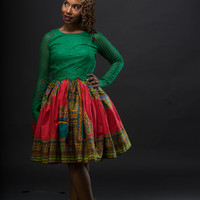 K I J A N I Belle Skirt - The Pamoja Collection