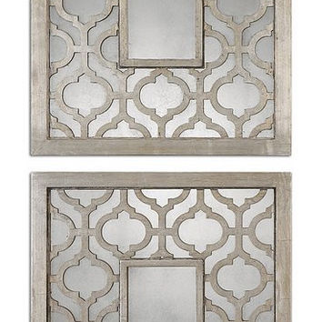 Uttermost Sorbolo Squares Decorative Mirror Set/2 - 13808