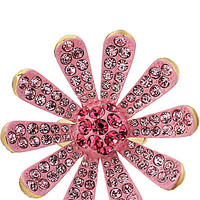 FLOWER BOOST PAVE RING