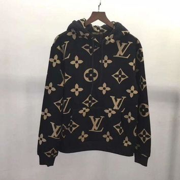 Louis Vuitton Women/Men Fashion Pullover Sweater Sweatshirt Hoodie-1