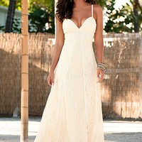 Lace maxi dress in the VENUS Line of Dresses for Women