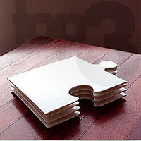 Home & Garden - Kitchen - Trays - ceramic jigsaw piece plate