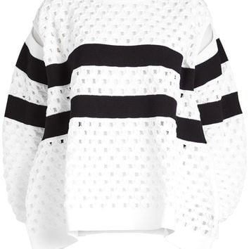 Pullover with Cut-Out Detail - Sonia Rykiel | WOMEN | KR STYLEBOP.COM