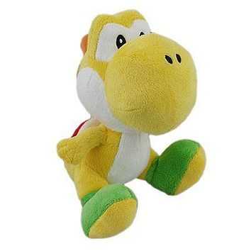 "Little Buddy Toys: Yellow Yoshi 6"" Plush"