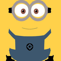 Despicable me Minions Dave Art  Wall Art Print / by geeksleeksheek