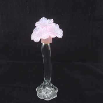Avon Perfume Bottle, Collectable Avon Flower Bottle, Flower Decanter