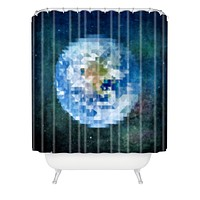 Deniz Ercelebi Earth 3 Shower Curtain