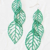 colors of the wind earrings in green at ShopRuche.com