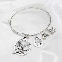 Bangle Styled Charm Bracelets