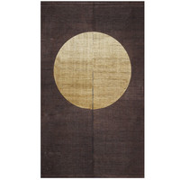 Noren noren fashion nostalgic interior Japanese style miscellaneous goods made in new classic full moon 88*150cm hemp 100% Japan