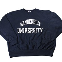 Vintage 90s Champion Vanderbilt University Sweatshirt Mens Size XL