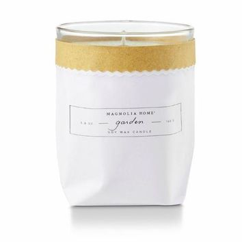 Magnolia Home by Joanna Gaines - Garden - Kraft Textured Bagged Candle