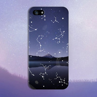 Astronomy Star Gazing x Mountain Lake Phone Case for iPhone 6 6 Plus iPhone 5 5s 5c 4 4s Samsung Galaxy s6 s5 s4 & s3 and Note 5 4 3 2