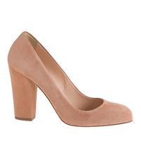 J.Crew Womens Blakely Suede Pumps