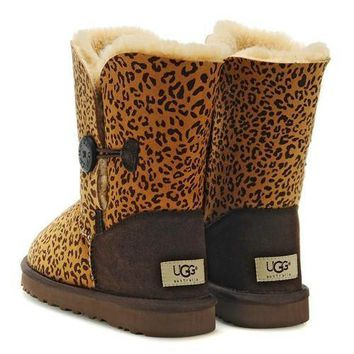 UGG Women male Fashion Wool Snow Boots