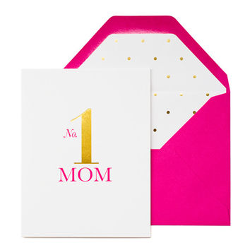 No. 1 Mom Card