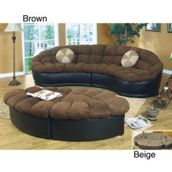 Papasan Two-piece Sectional Sofa | Overstock.com