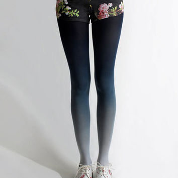 Ombre Tights | Lilac
