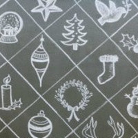 Holiday Symbols Gift Wrapping Paper