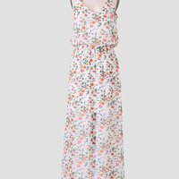 In Tuscany Floral Maxi Dress