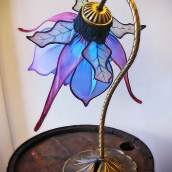 Color Changing LED Silk Lily Lamp